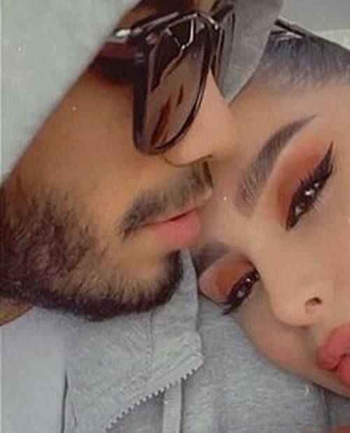 مهراد جم و دوست دخترش دنیا جهانبخت