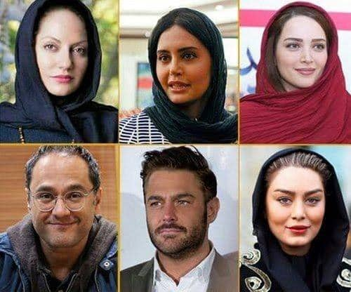 عکس های محبوب ترین سلبریتی ایرانی