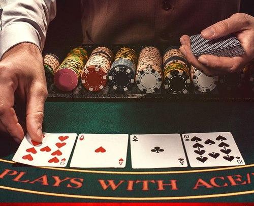 چیدمان کارت ها در این بازی
