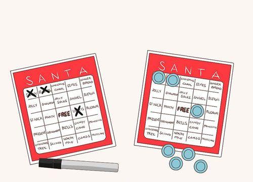بازی بینگو  چگونه بازی بینگو کریسمس بسازیم