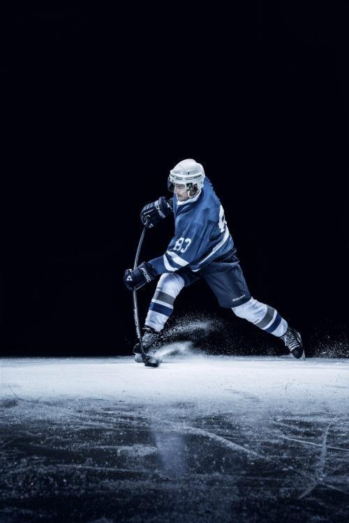 آموزش هاکی روی یخ