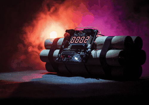 اشتباهات شرط بندی انفجار