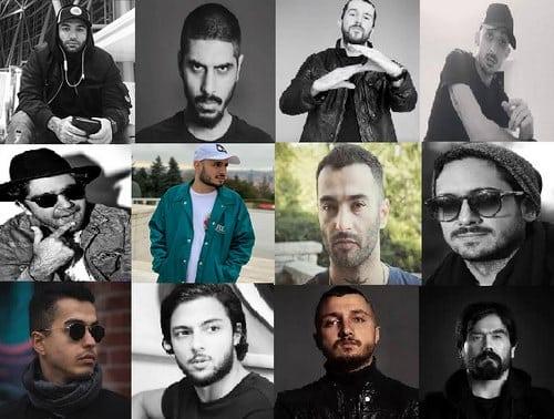 5 مورد از برترین گروه های رپ فارسی