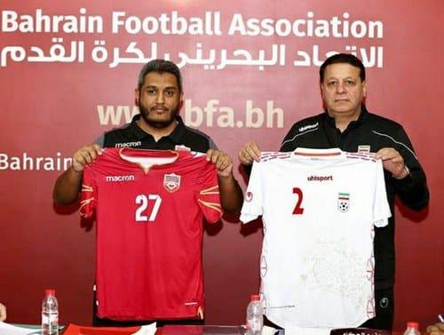 بازی ایران و بحرین در مقدماتی جام جهانی