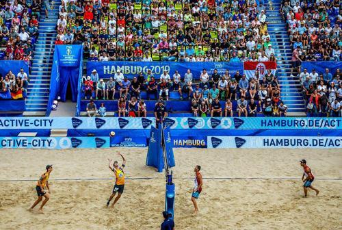 مسابقات والیبال ساحلی چگونه برگزار می شود؟