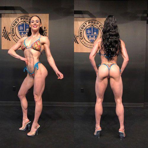 اشلی کالتواسر سه بار برنده خانم بیکینی المپیا Ashley Kaltwasser